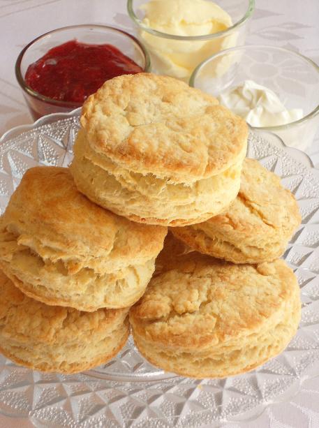 scones med bikarbonat