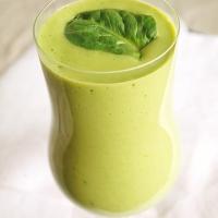 Grön smoothie med spenat