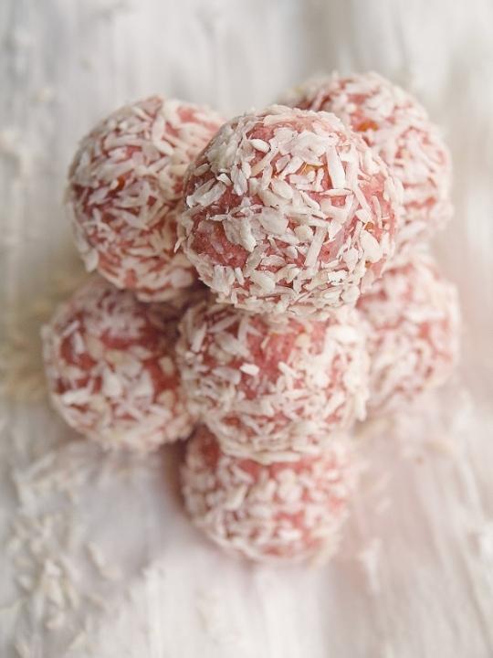 jordgubbsbollar