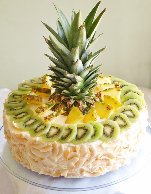 karibisk tårta