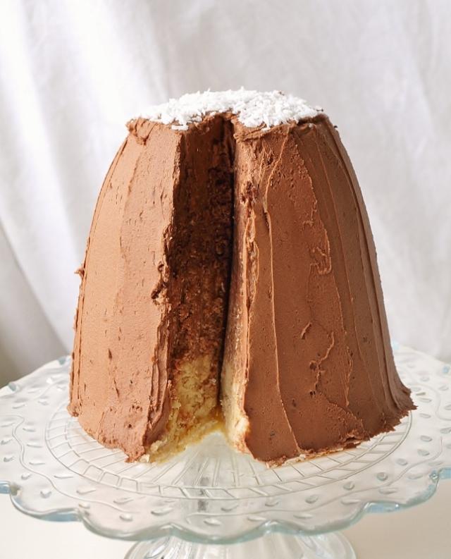 chokladbollstårta